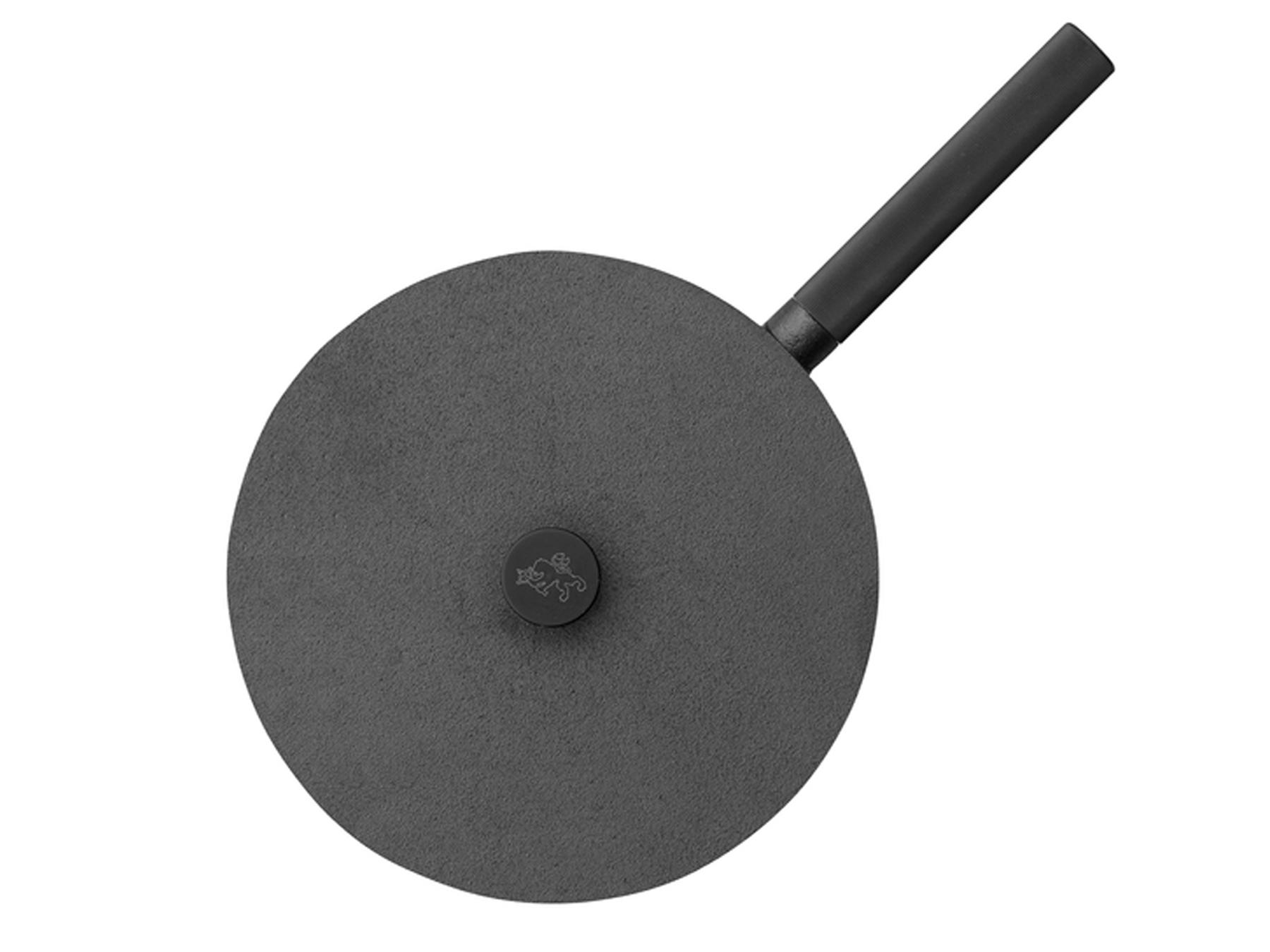 Skeppshult NOIR Schlemmerpfanne 28 cm mit Deckel